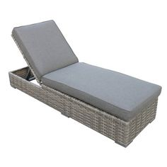 Teva Furniture Bali Chaise Lounge with Cushion