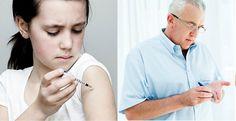 Complicaciones mayores en la diabetes tipo 2 en comparación con la diabetes tipo 1