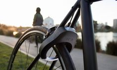 Grasp Lock Fingerprint Enabled Bike Lock Pedal Power Pinterest