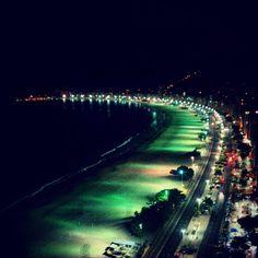 Praia de Copacabana itt: Rio de Janeiro, RJ