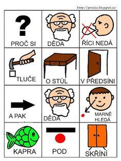 Pro Šíšu: Básničky i pro autíky Education, Comics, Czech Republic, Montessori, Cartoons, Onderwijs, Learning, Comic, Bohemia