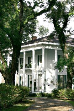 Bragg-Mitchell Mansion (1855) (1906 Springhill Ave.). Mobile, AL. Style: Greek revival + Italianate