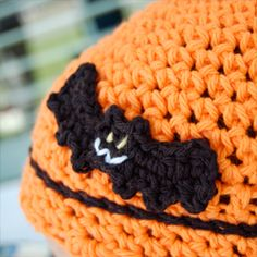 This crocheted bat pattern is all treat and no trick.