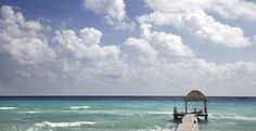 A secluded spot for #relaxation: the #pier at Viceroy Riviera Maya