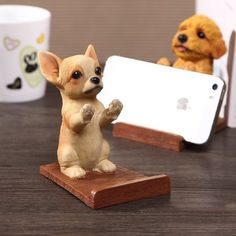 Fantastic Beautiful dogs tips are available on our site. Tiny Puppies, French Bulldog Puppies, Cute Puppies, Cute Dogs, Puppies Tips, Novelty Toys, Novelty Gifts, Dog Phone, Tablet Holder