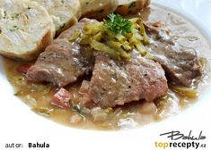 Czech Recipes, Steak, Food And Drink, Steaks