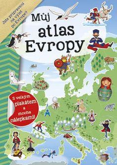 Zábavný sešit, se kterým děti projdou celou Evropu, dozví se mnoho zajímavých informací a užijí si spoustu zábavy. Naučí se například názvy jednotlivých zemí, jejich vlajky i hlavní města. Takže št'astnou cestu po Evropě!