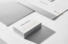 Gorgeous identity for architect turned fine jeweller Cushla Whiting . With a seasonal jewellery line and a bespoke service, Cushla requir. Brand Identity Design, Branding Design, Logo Branding, The Company You Keep, Bussiness Card, Stationary Design, Visual Identity, Logo Inspiration, Business Card Design