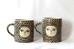 Hey, I found this really awesome Etsy listing at https://www.etsy.com/listing/171545000/two-leopard-cups-ceramic-double-espresso