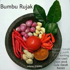 Sambal Recipe, Malay Food, Indonesian Cuisine, Western Food, Malaysian Food, Homemade Sauce, Base Foods, My Favorite Food, Food Hacks