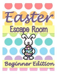 Easter Escape Room Activity - Beginner Edition Easter Activities, Easter Crafts For Kids, Easter Ideas, Escape Room For Kids, Easter Party Games, Christian Crafts, Craft Stick Crafts, Diy Crafts, Bible For Kids