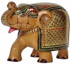 Wicker elephant - painting inspiration
