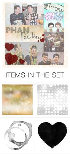 """""""The Phan fandom"""" by scarlet-snow2603 on Polyvore featuring art"""