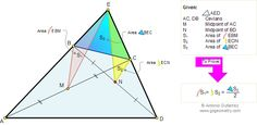 Math Geometry Problem 89 about triangle are, quadrilateral, diagonals, and midpoints. Education, Teaching. Level: High School, College.