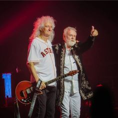 I love Roger Taylor and Brian May so much