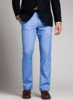 Oxleys - Blue Oxford Pants | Bonobos