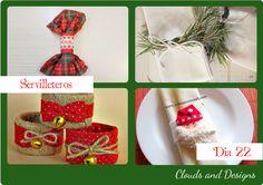 Servilleteros para Navidad | Aprender manualidades es facilisimo.com