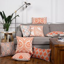 Newest arrival Orange Gray Cushions Geometric Pillow Cover Boho Cushion Cover Throw Pillow Home Decor Pillowcase Decorative Pillows for sofa now at discount US $6.99 with free shipping  you will discover the following item together with even more at the estore      Purchase it right now right here >> http://bohogipsy.store/products/orange-gray-cushions-geometric-pillow-cover-boho-cushion-cover-throw-pillow-home-decor-pillowcase-decorative-pillows-for-sofa/,  #BohoChic