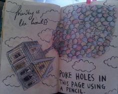 Wreck this journal (holes) Wreck This Journal, My Journal, Bullet Journal, Fun Crafts, Arts And Crafts, Journal Inspiration, Journal Ideas, Geek Stuff, Fun Stuff