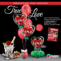 Le véritable Amour !   Osez l'originalité pour cette St Valentin   #qualatex #ballon #balloon #coeur #heart #love #stvalentin #valentinesday #amour