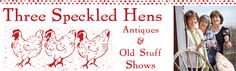 Join us for the best antique show on the west coast! The Three Speckled Hens Antiques & Old Stuff Show is in Paso Robles and is fun for the whole family! Antique Fairs, Antique Show, Antique Market, Vintage Market, Oldies But Goodies, Hens, Flea Markets, Road Trip, Old Things