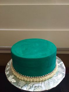 Tiffany themed Cake (just because)