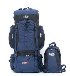 Large Camping Hiking Travelling Cycling Festival Padded Rucksack  Backpack  New