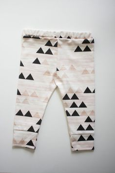 organic cotton leggings OR drop crotch in by ourlittlelullaby