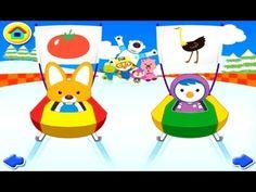 [HD] 뽀로로 낱말놀이 티읕 with Pororo game 宝露露,Popolo, Пороро, ポロロ,เกาหลี