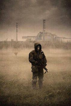 Sometimes the smallest things … just destroy everything. Apocalypse Aesthetic, Apocalypse Art, Post Apocalyptic Art, Post Apocalyptic Fashion, Gas Mask Art, Masks Art, Apocalypse Landscape, Dystopian Art, Chernobyl Disaster