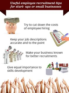 Useful Employee recruitment tips by CareersUnbound for start-ups & small business