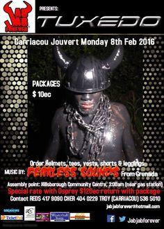 Jab Jab Forever 'TUXEDO' Carriacou Carnival Jouvert Band 2016