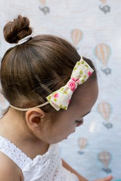 """Limited Edition Emma Bow in """"Vintage Floral"""""""