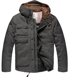MAN  Winter  coat 90 Duck Down Jacket warm by swanstore on Etsy, $169.99