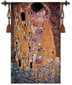 Gustav Klimt The Kiss Tapestry