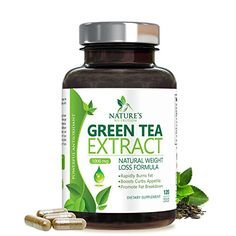 Green Tea Extract with EGCG for Weight Loss - Boost Metabolism for Healthy Heart - Antioxidants & Polyphenols for Immune System - Gentle Caffeine - Natural Fat Burner Pills - 120 Capsules Green Tea Supplements, Fat Burner Supplements, Antioxidant Supplements, Weight Loss Supplements, Green Tea Extract Pills, Green Tea Pills, Green Tea Fat Burner, Green Tea Capsules, Fat Burner Pills