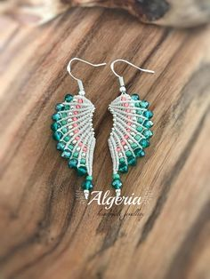 This micro macrame earrings are knotted by hand Find me on social networks: Facebook:https://m.facebook.com/AlegriamiaJewellery/ Instagram:@alegriamiacraft Pinterest:https://www.pinterest.co.uk/Alegriamiacraft/