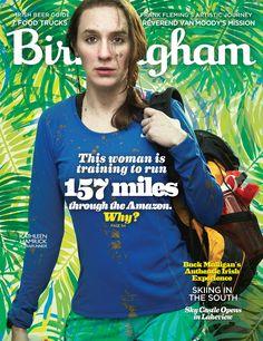 Birmingham Magazine March 2016 Cover - Kathleen Hamrick