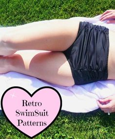 Chic Retro Swimsuit Patterns - Craftfoxes