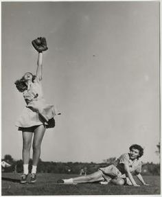 Students playing baseball :: Archives & Special Collections Digital Images :: 1947