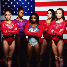 WE'RE READY FOR YOU, 2016 OLYMPICS. | Guys, The US Women's Olympic Gymnastics Team Is Amazing Team Usa Gymnastics, Gymnastics Equipment, Gymnastics Quotes, Gymnastics Pictures, Artistic Gymnastics, Olympic Gymnastics, Gymnastics Problems, Gymnastics Stuff, Acrobatic Gymnastics