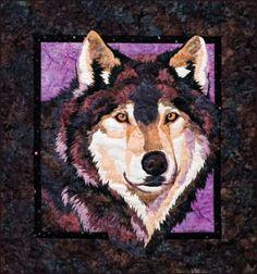 Winter Wolf  Applique Quilt Pattern ~ The Virginia Quilter