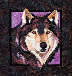 Winter Wolf  Applique Quilt Pattern ~ The Virginia Quilter