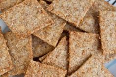 Homemade Wheat Thins by Oh She Glows