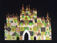 WOW! original concept painting by Mary Blair -- were I a rich girl, this would be mine!