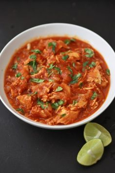 Slow Cooker Butter Chicken: I'm intrigued but not sure the kids would eat it...
