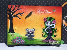 Jan (handcraft hobby) for CDD : Sugar Skull Amor and Panda Pals