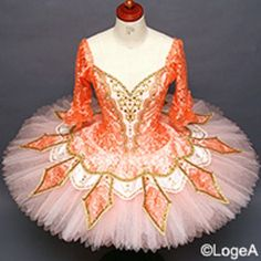 NEW COLLECTION 2015. Exclusive style. This stunning professional stage costume will capture the attention of the audience. Created for the Flower Girl Variation in Don Quixote, it can be worn for many