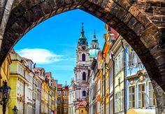 City trip to Prague: Discover the Golden City - Travel Ideas Budapest, Prague Old Town, Prague Travel, Prague Czech Republic, Most Beautiful Cities, Eastern Europe, Vacation Destinations, Night Life, Places To Visit