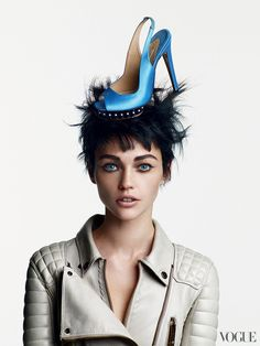 Nicholas Kirkwood Shoes  Photographed by Patrick Demarchelier, Vogue, October 2011